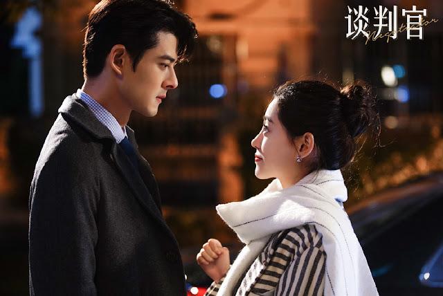 Negotiator c-drama stills Dylan Kuo Zhu Xu Dan