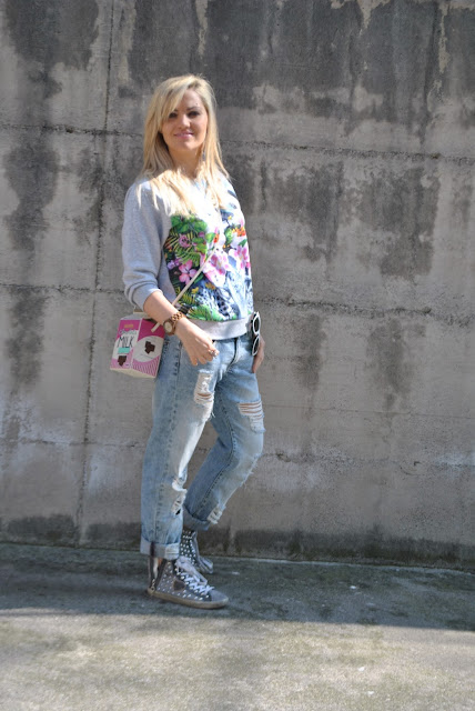 outfit felpa manica 3/4 come abbinare la felpa manica a 3/4 abbinamenti felpa 3/4 sleeveless sweatshirt outfit outfit primaverili spring outfit outfit marzo 2016 march outfit mariafelicia magno fashion blogger color block by felym fashion blogger italiane fashion blog italiani fashion blogger milano blogger italiane blogger italiane di moda blog di moda italiani ragazze bionde blonde hair blondie blonde girl fashion bloggers italy italian fashion bloggers influencer italiane italian influencer