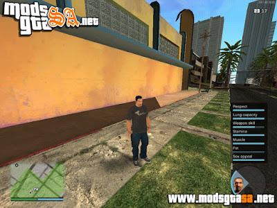 HUD GTA V Michael Nex-Gen V2