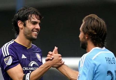 Kaka và Pirlo được chọn vào đội hình các ngôi sao MLS 2016.