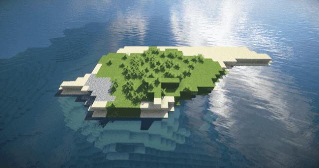 Pulau Survival Minimalis, 7 Seed Minecraft Terbaik, Keren, dan Menarik