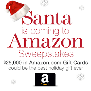 Santa is Coming to Amazon Sweepstakes