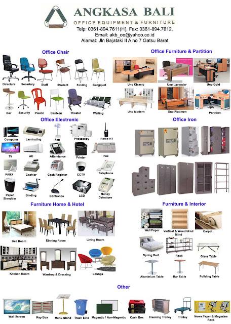 jual furniture kantor di bali