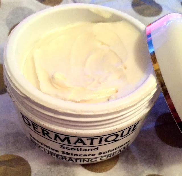 Dermatique, recuperating cream, cream, local produce