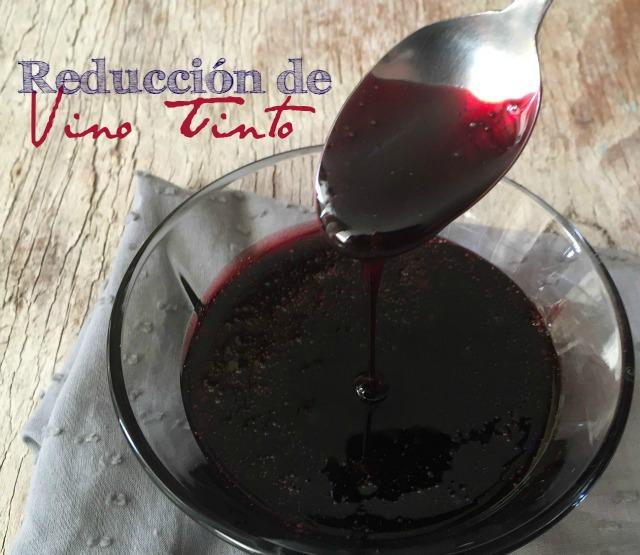 Cómo hacer reducción de vino tinto | http://bizcochosysancochos.blogspot.com/
