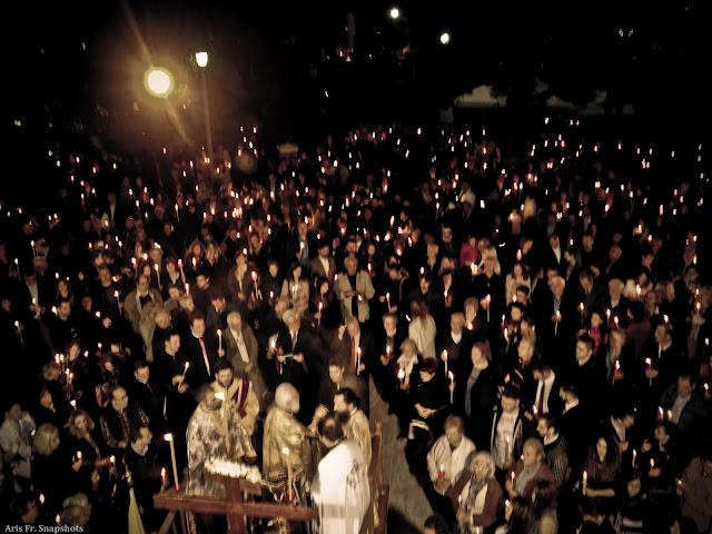 Ανάσταση στον Ι.Ν. Αγίας Βαρβάρας στη Τούμπα
