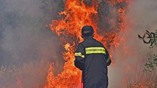 Κλιμάκια Πυροσβεστικής και Αστυνομίας στο Σοφικό για τα αίτια της πυρκαγιά