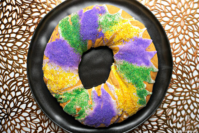Receta Tradicional del King Cake de Luisiana