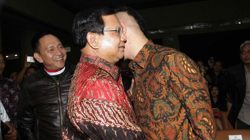 Prabowo Subianto dan Ahok