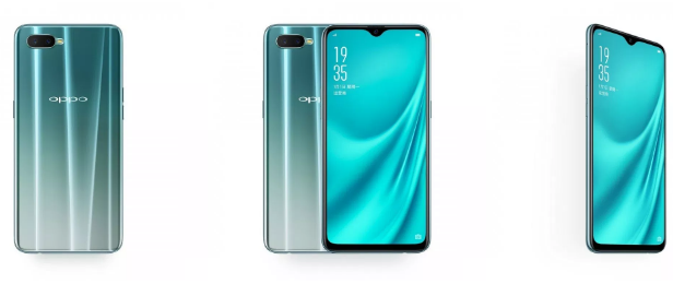 OPPO R15x unveiled in China, comes with Water-drop Notch and In-Display FP Scanner