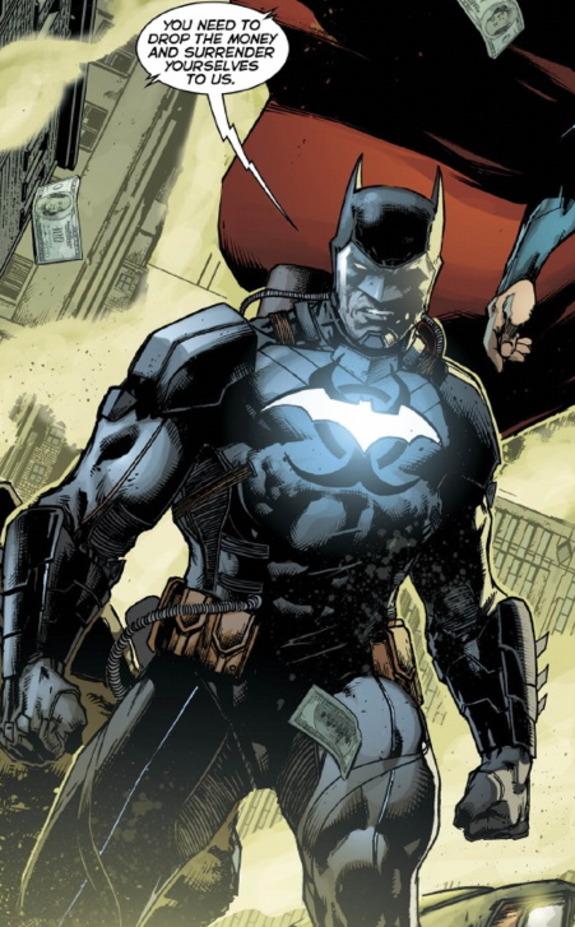 Batman Haz-Bat Suit