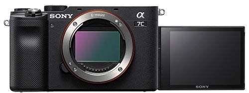 Sony A7C с откидным экраном