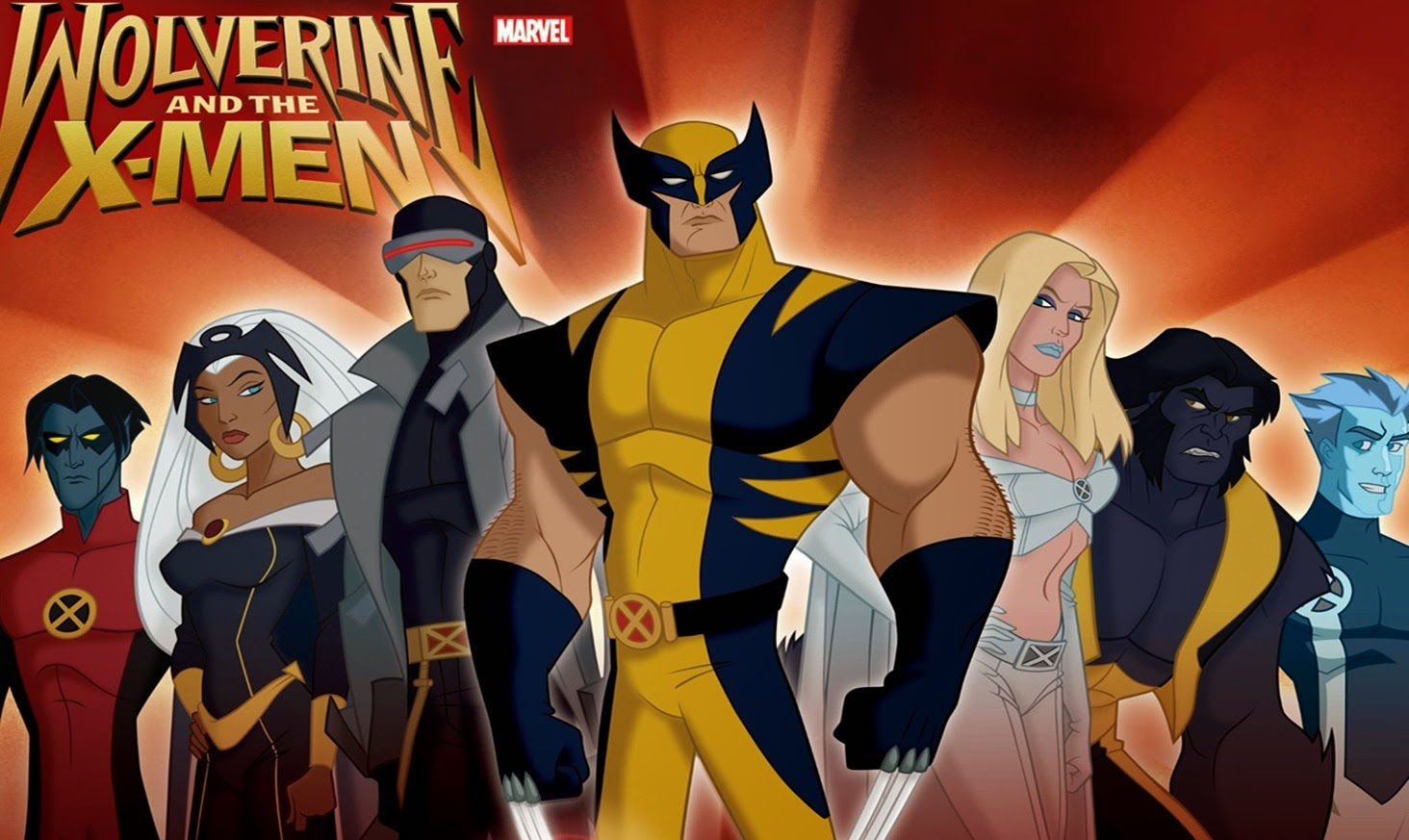 Il mondo di supergoku wolverine and the men