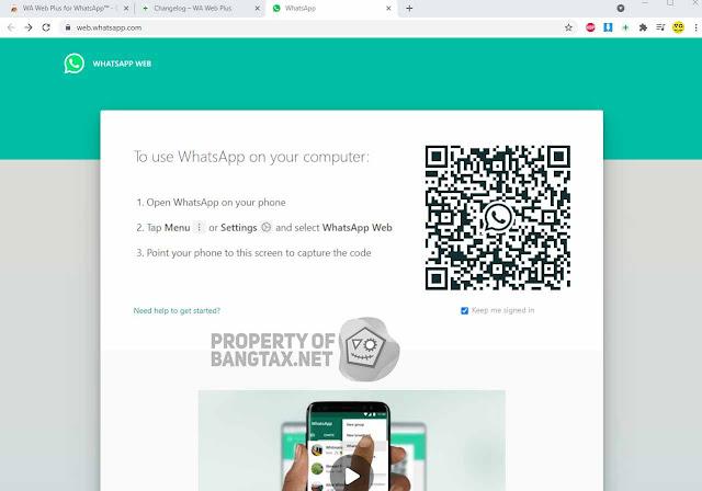 Cara Menyamarkan Dan Blur Chat Di WhatsApp Web Terbaru