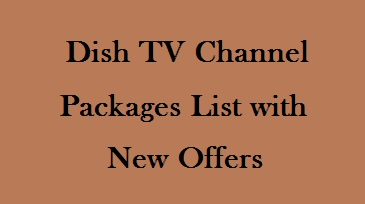 Products Price List See Dish Tv Channel Packages List With Price 2020