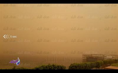 العاصفة الترابية في مصر 2018