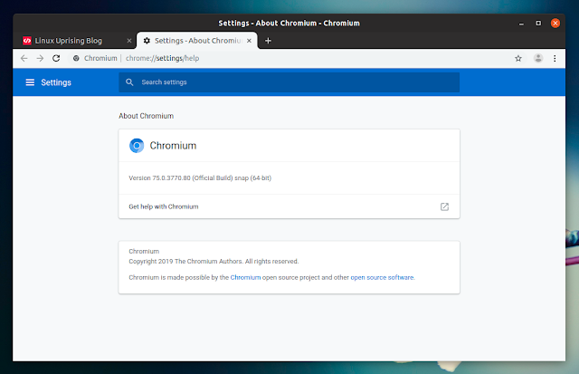 Chromium snap Ubuntu