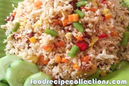 MAKING FRIED RICE HEALTHIER AND  DELICIOUS