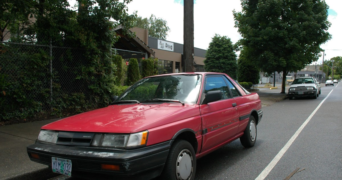 Old Parked Cars 1987 Nissan Sentra Se Sport Coup 233