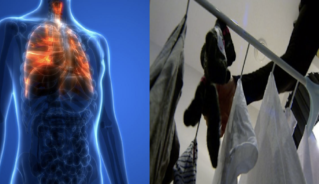 This Is What Happens To Your Lungs When You Dry Laundry Indoors