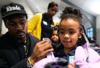 Diggs And His Daughter