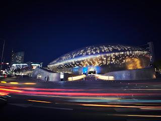ddp south korea night