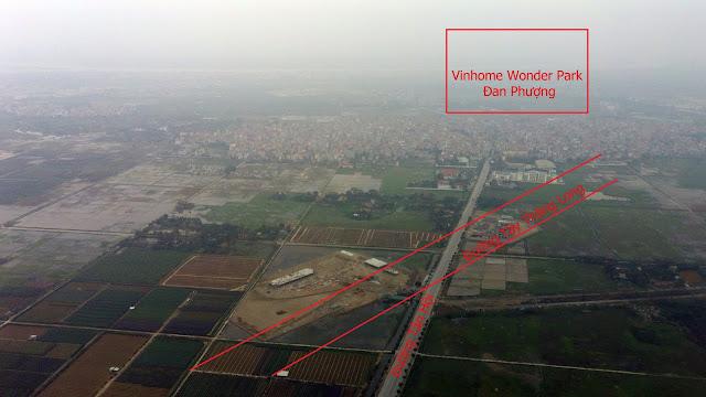 Khu đô thị Vinhome Wonder Park Đan Phượng nằm trên trục đường hướng tâm Tây Thăng Long