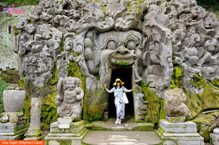 Photo: Goa Gajah (Elephant Cave), Indonesia