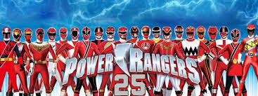 Resultado de imagen para power rangers 25 aniversario