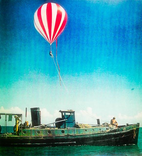 Teddy Tucker's calypso pink Winzen balloon