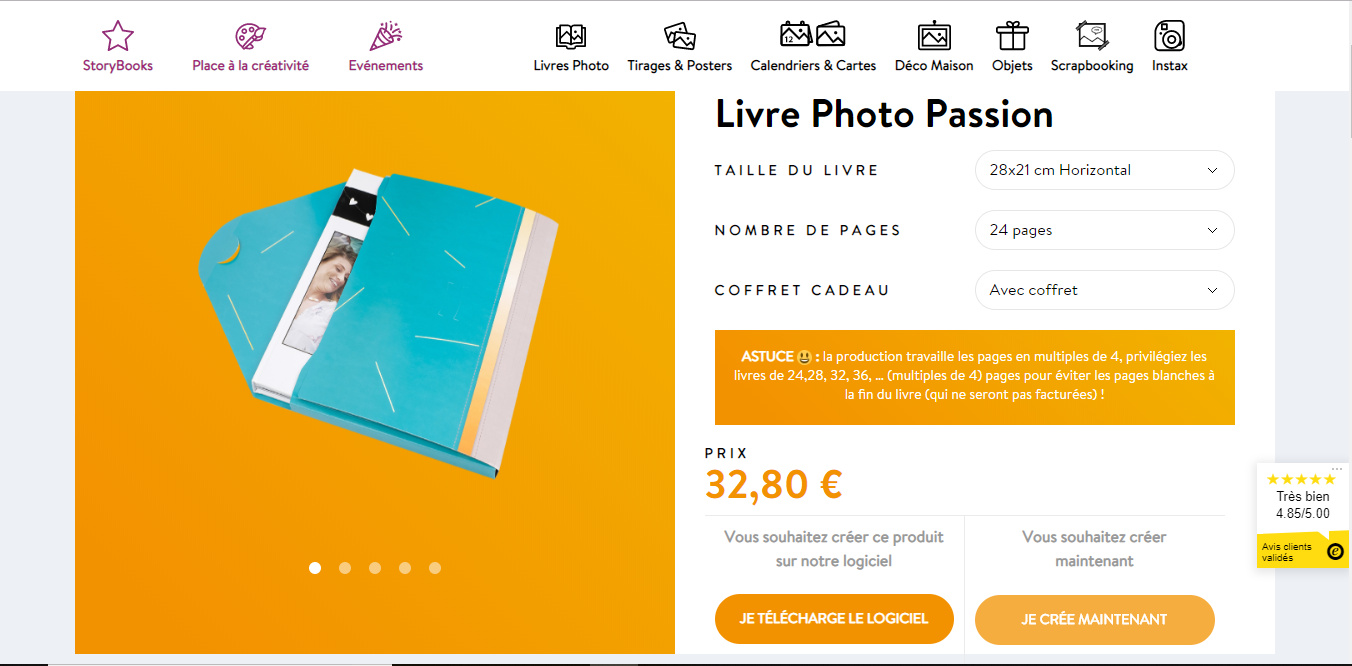 Livre Photo Passion MyFujifilm