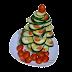 Vianočný stromček z uhoriek