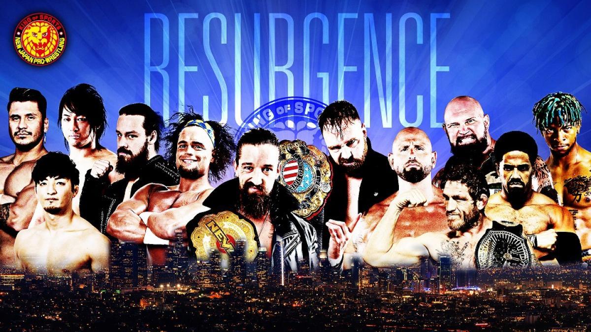NJPW anuncia evento com Jon Moxley, Jay White e outros lutadores