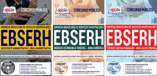 Apostila Ebserh Nacional 2018 Assistencial, Administrativa e Médica