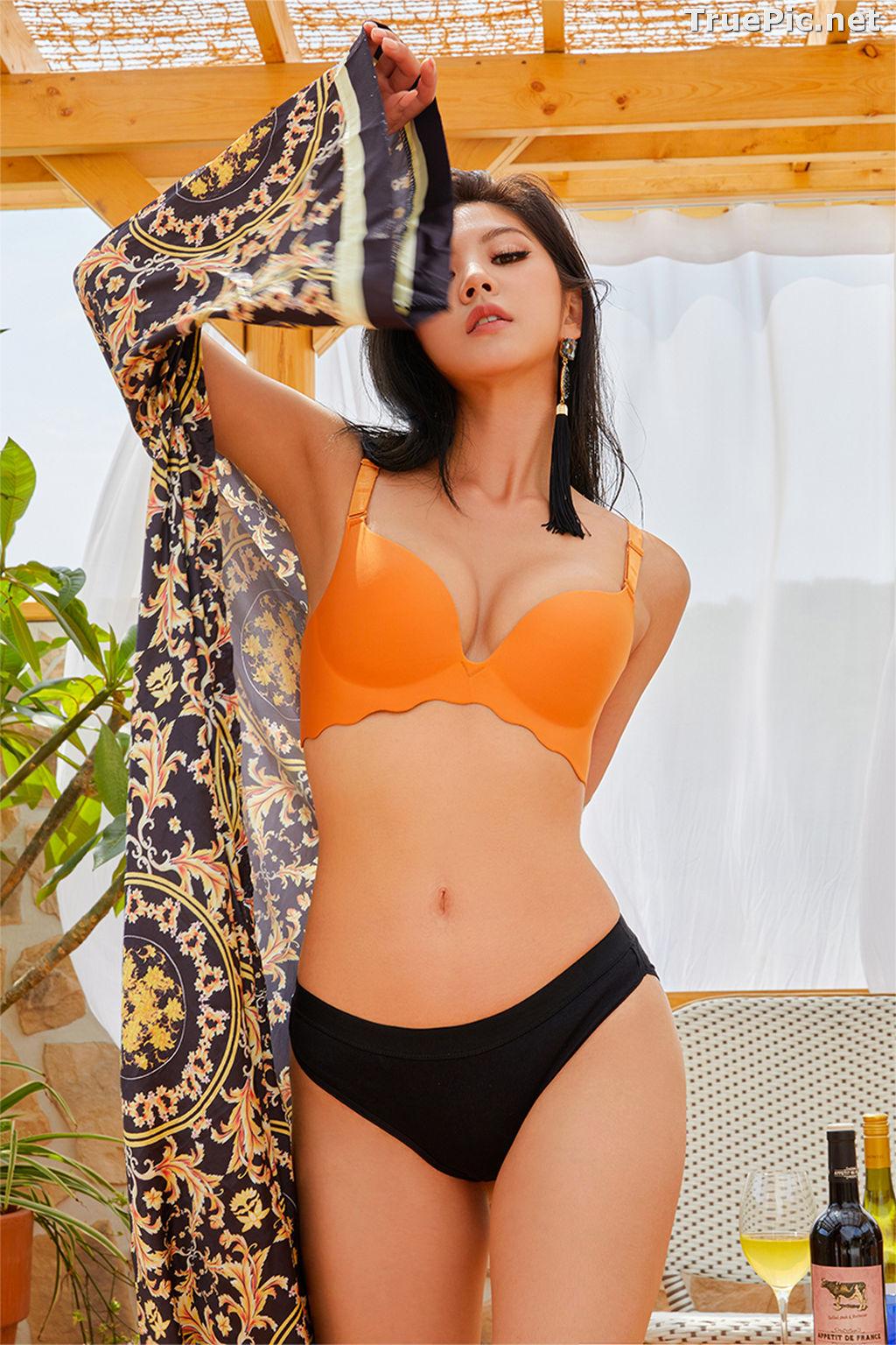Image Korean Fashion Model – Lee Chae Eun (이채은) – Come On Vincent Lingerie #6 - TruePic.net - Picture-7