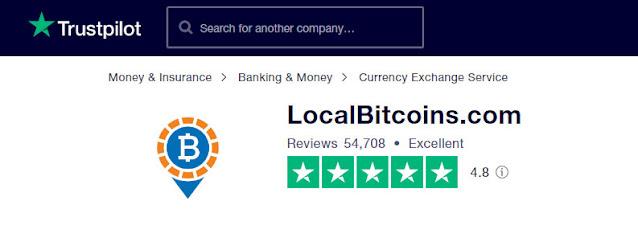 Seguridad de LocalBitcoins - Trustpilot