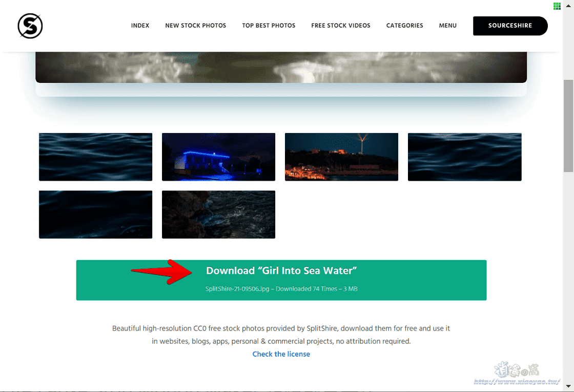 SplitShire免費CC0高畫質圖片、短影片素材,可商用