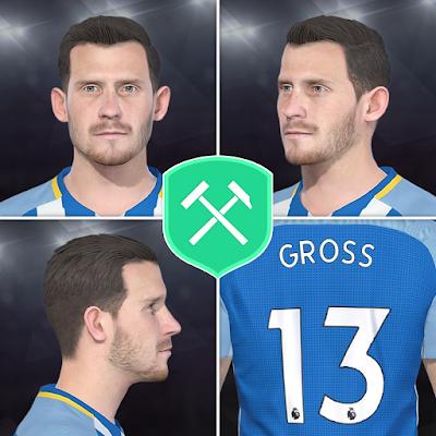 PES 2018 Faces Paul Gross by Volun