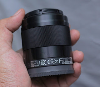 Lensa Sony E 50mm f1.8 OSS Bekas