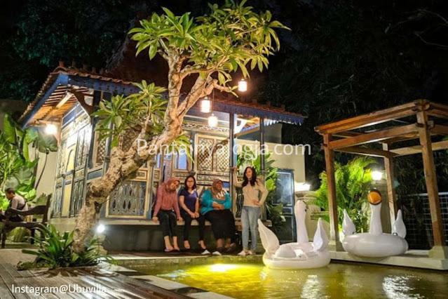 Alamat Ubu Villa Jogjakarta.
