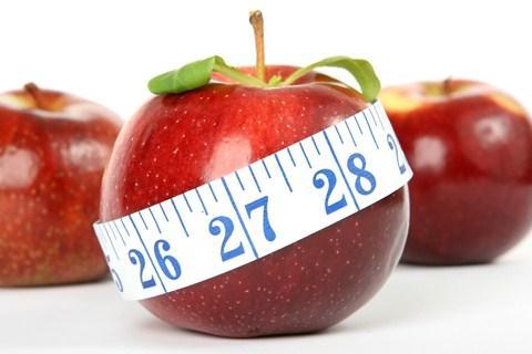 Buah apel kaya serat pangan