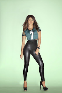 Priyanka Chopra in NFL Jerseys