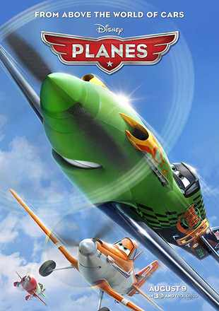 Planes 2013 BluRay 300Mb Hindi Dual Audio 480p Watch Online Full Movie Download bolly4u