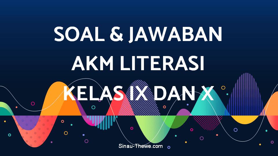 Contoh Soal Akm Sma Bahasa Jawa Id Revisi