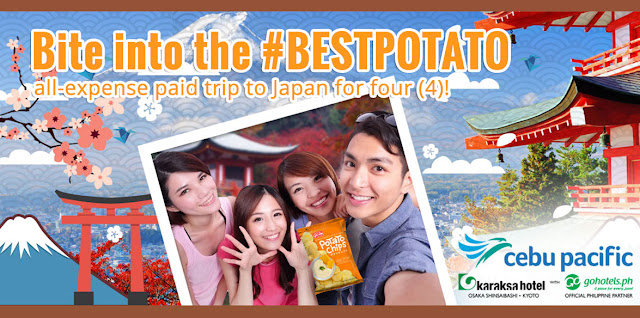 A Jack n Jill Calbee selfie can be your ticket to a free Japan trip