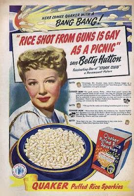Quaker Puffed Rice - Gay as a picnic