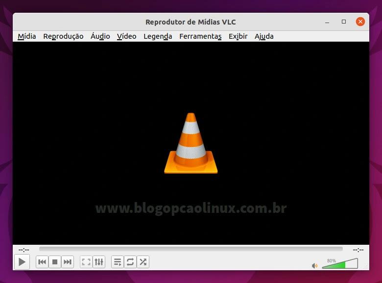 Como instalar o VLC Media Player no Ubuntu 21.10 (Impish Indri)