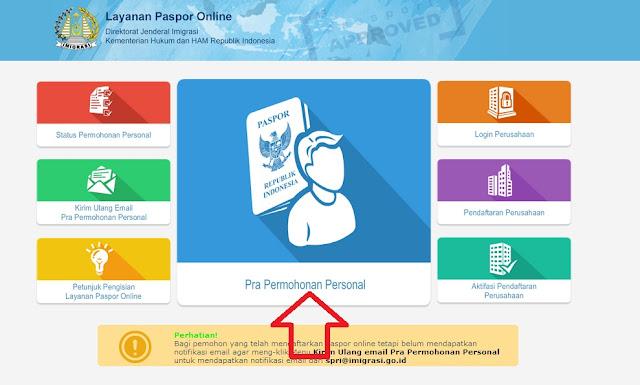 Cara Membuat Paspor Online 2017