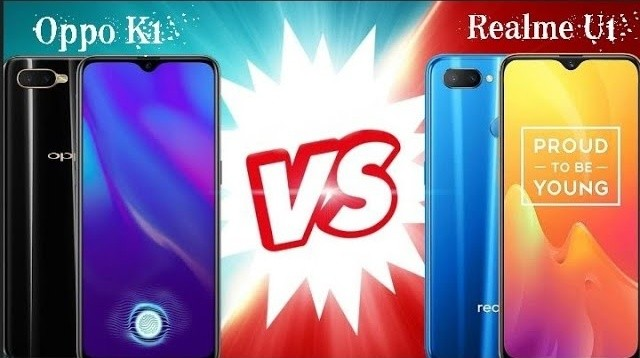 Oppo K1 vs Realme U1 - Full detailed Comparison