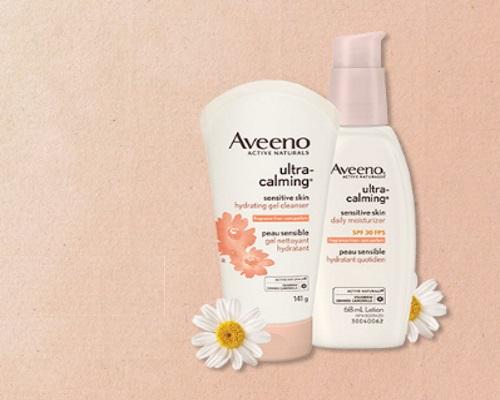 Chickadvisor Aveeno  Ultra-Calming Skincare #AveenoUltraCalming